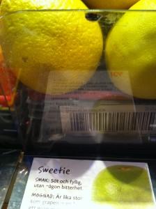 Sweeti har det kanske lättare.