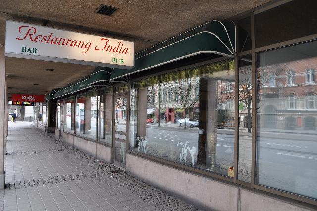 dominerande indisk oskyddad nära Malmö