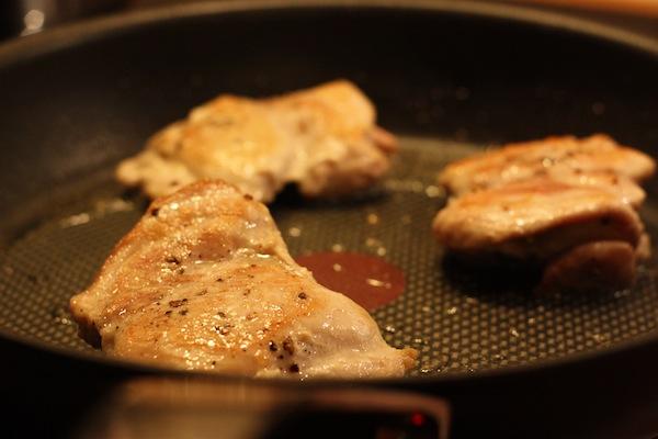 tillaga fryst kycklingfile